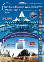 Anti-Aging Medicine World Congress, Paris 2006